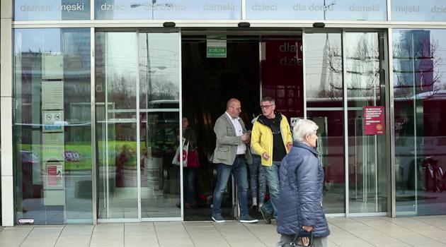 Akcja promocyjna w warszawskim Pasażu Wiecha